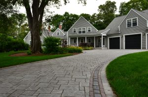 driveway pavers with grass